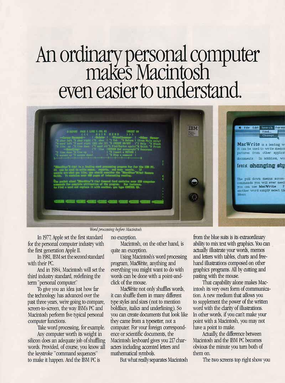 DOS PC vs Macintosh