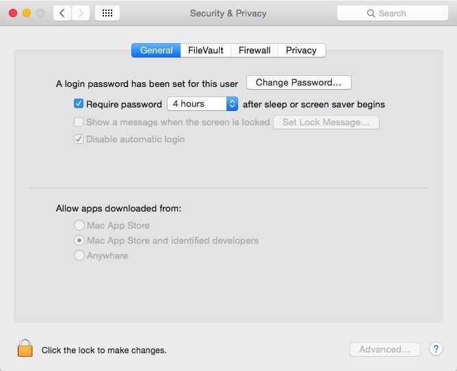 Gatekeeper OS X Yosemite