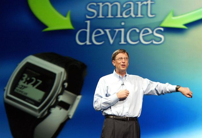 Microsoft Bill Gates SPOT watch 2003