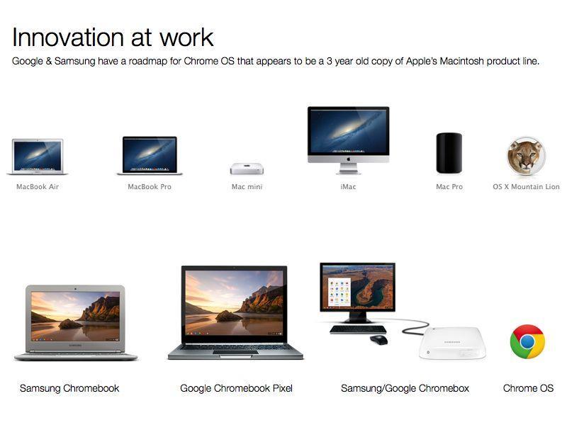 Google Chrome OS devices
