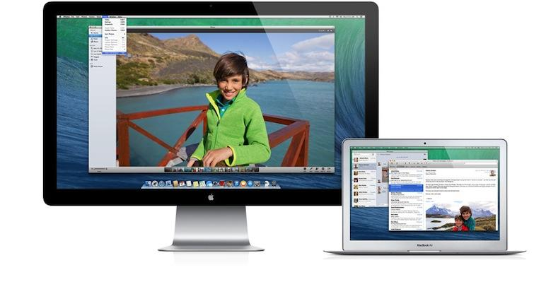 OS X Mavericks Finder