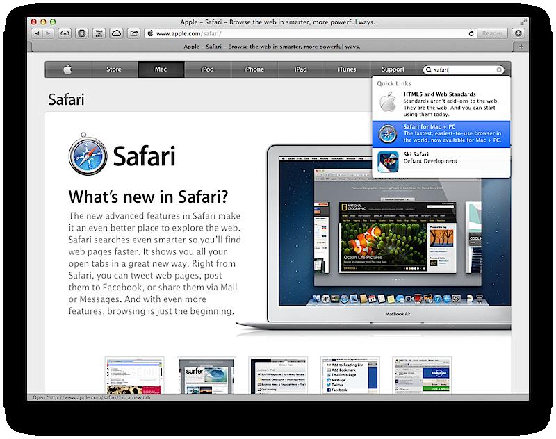 apple safari 6 free download for windows 7