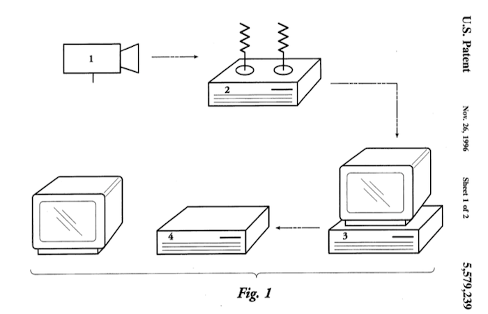 Samsung patent 5579239