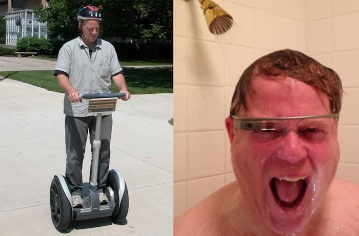 Segway to Google Glass
