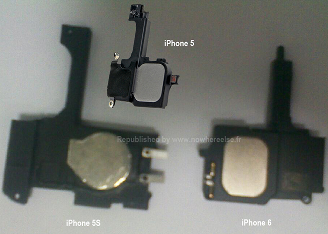 Supposed iPhone Components