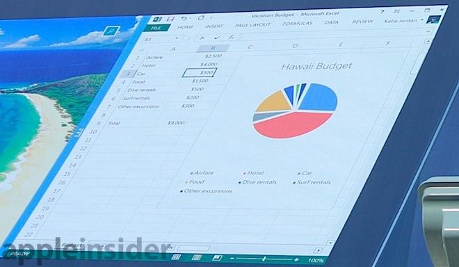Excel Surface fail