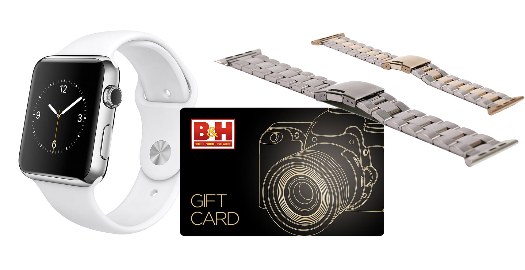 Apple Watch Stainless Steel with $100 B&H Gift Card