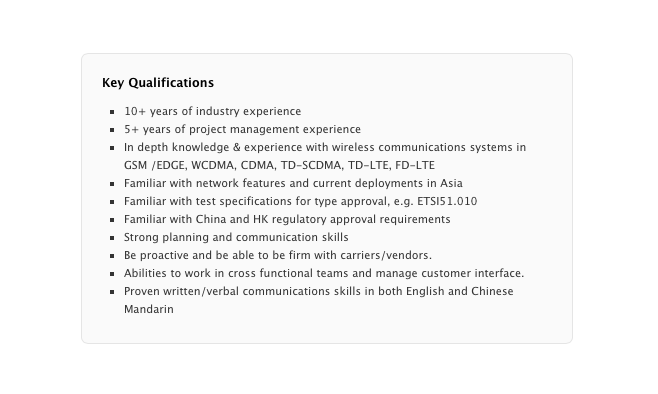 Apple Carrier Engineering Manager - China
