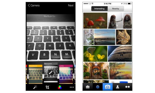 Flickr iOS app update
