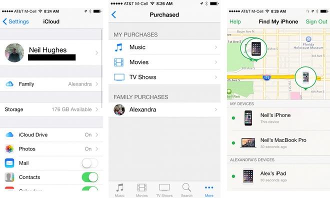 Account my iphone FAQ: Iphone