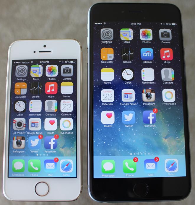 In Depth Review Apple S 5 5 Inch Iphone 6 Plus Running Ios 8 Appleinsider