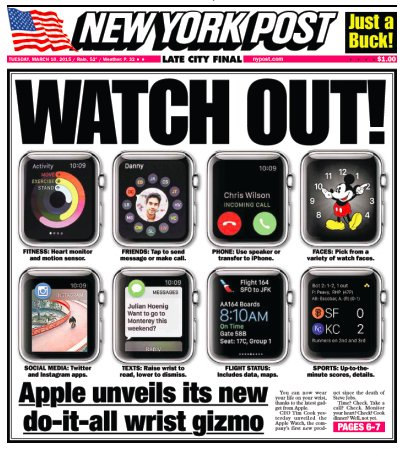 NY Post Watch Out