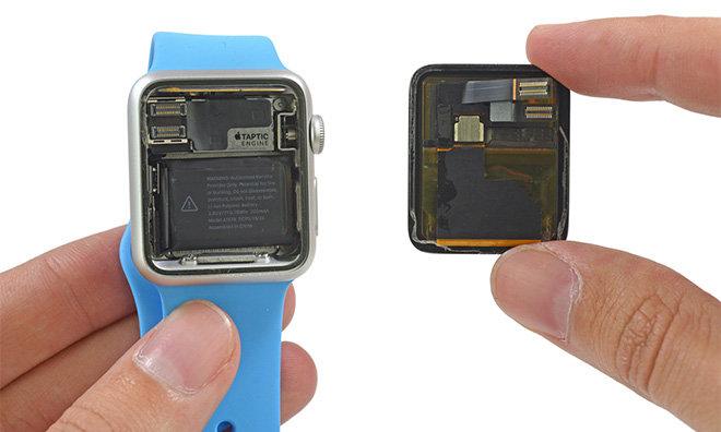 Apple Watch inside