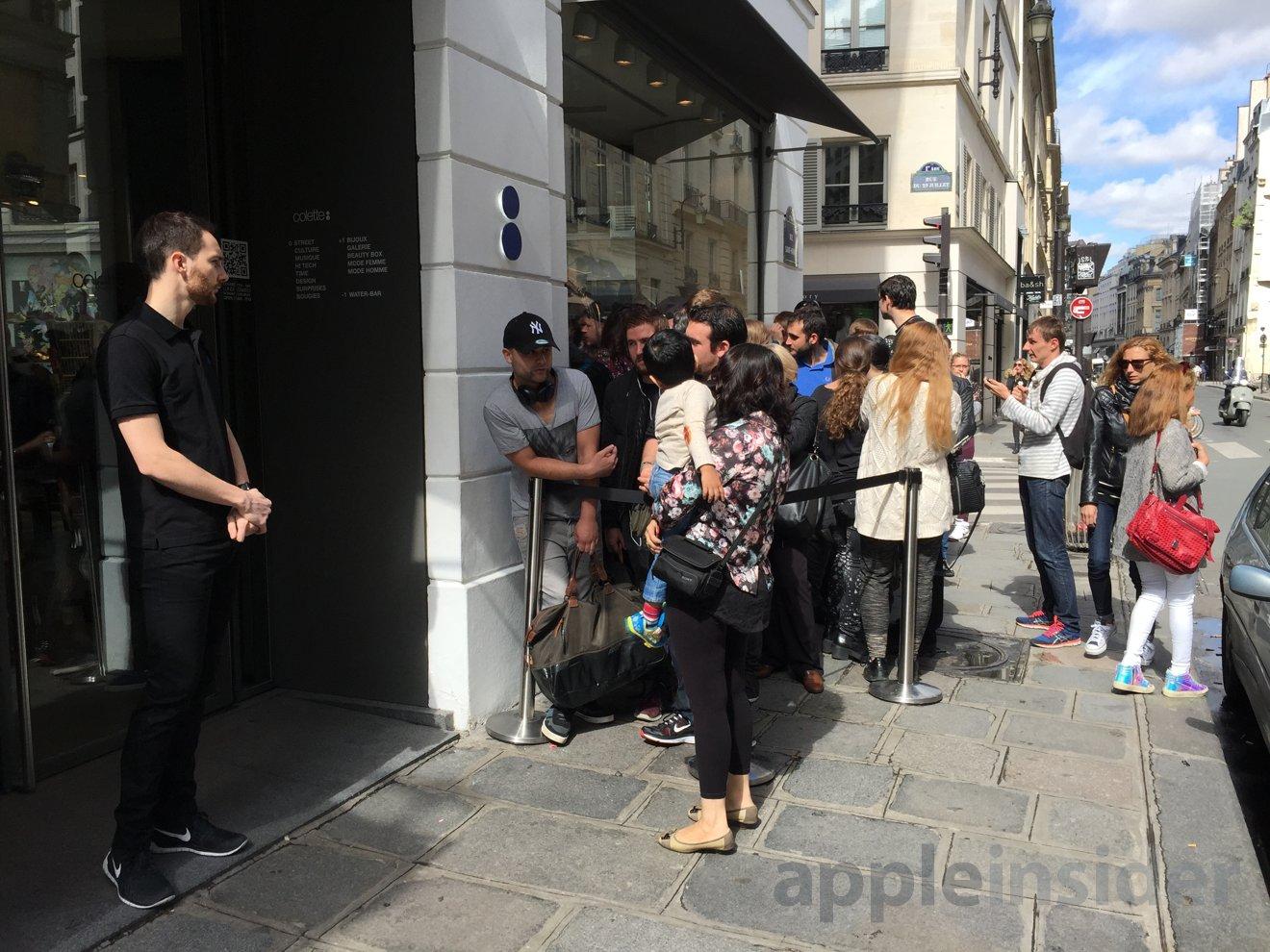 Paris Apple Watch launch week 2
