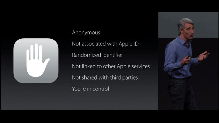 Craig Federighi addresses Apple's search privacy policy