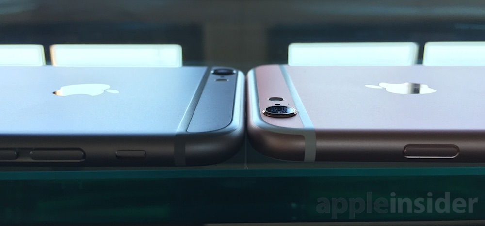 iPhone 6s thickness