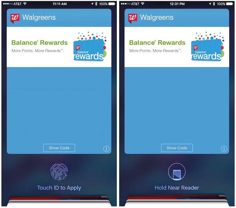 Walgreens to add Apple Pay support for Balance Rewards cards