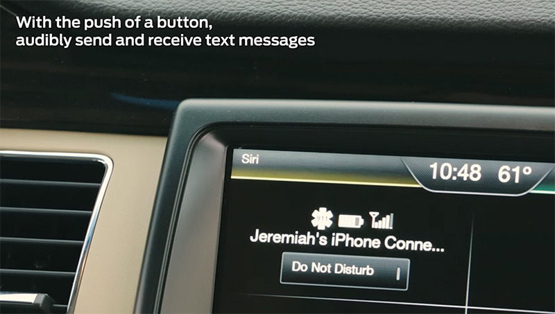 ford sync 2 siri eyes free