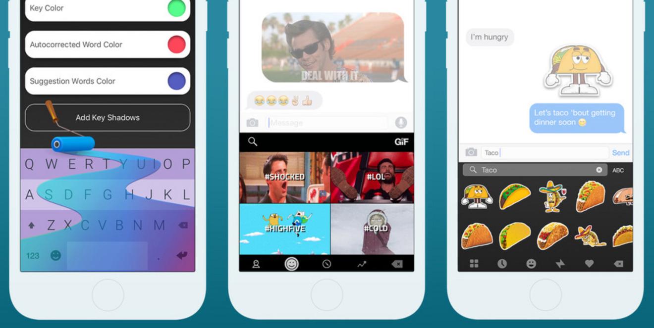 Fleksy iPhone GIF Keyboard