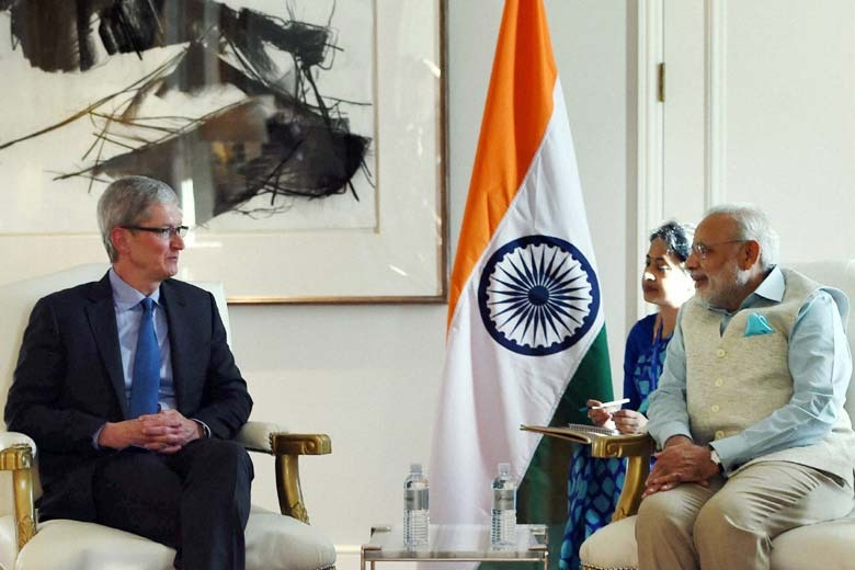 Apple's Tim Cook to meet with Indian PM Narendra Modi this ...