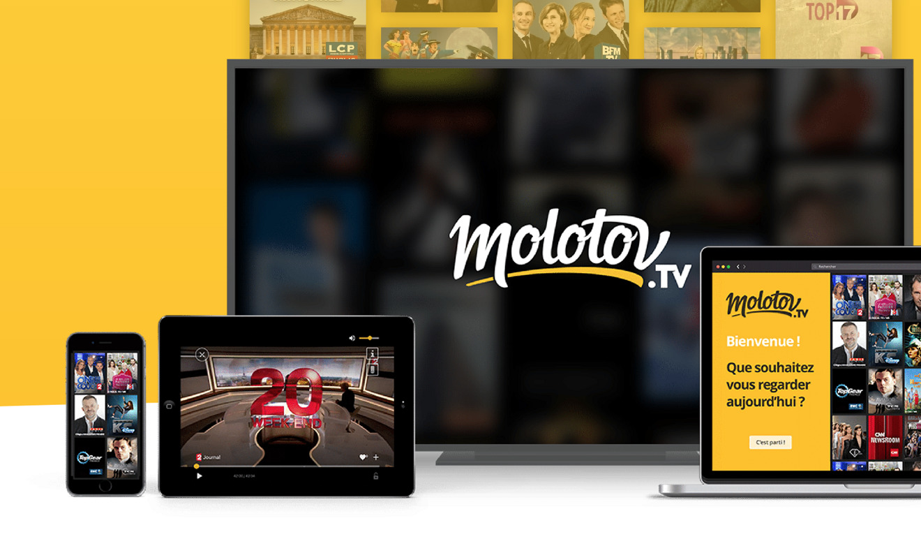 Apple TV becomes first set-top box to carry French Molotov.tv video streaming service | AppleInsider