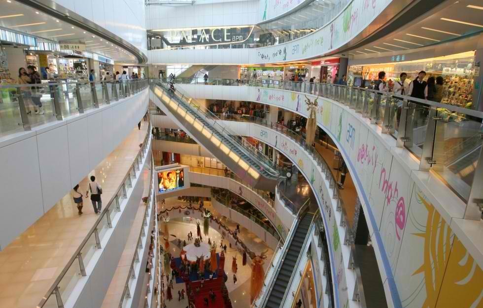 Hong Kong's APM Mall.