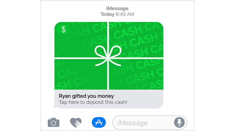 How To Send Money Using Square Cash through iMessage