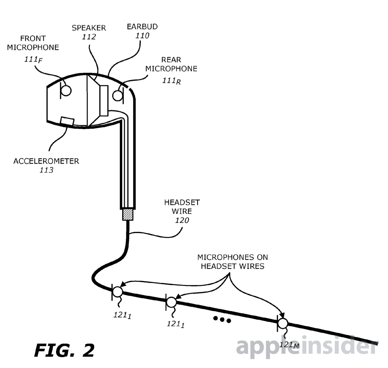 Apple Working On Voice Recognizing Headphones With Built In Accelerometer Beamforming Mics Appleinsider