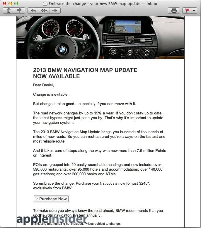 BMW updates