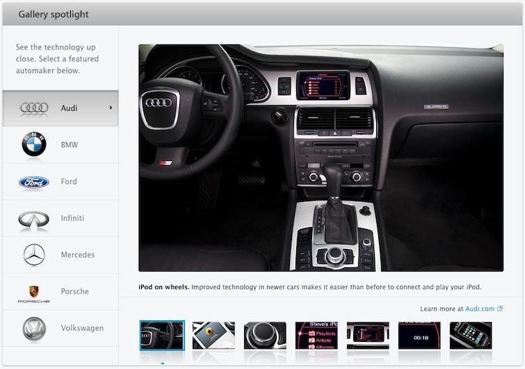 iPod car integration