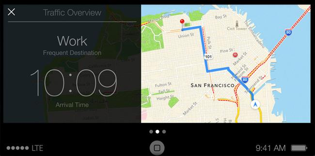 iOS in the Car Maps