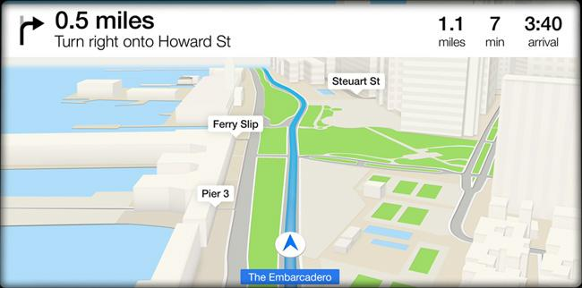 iOS in the Car Directions