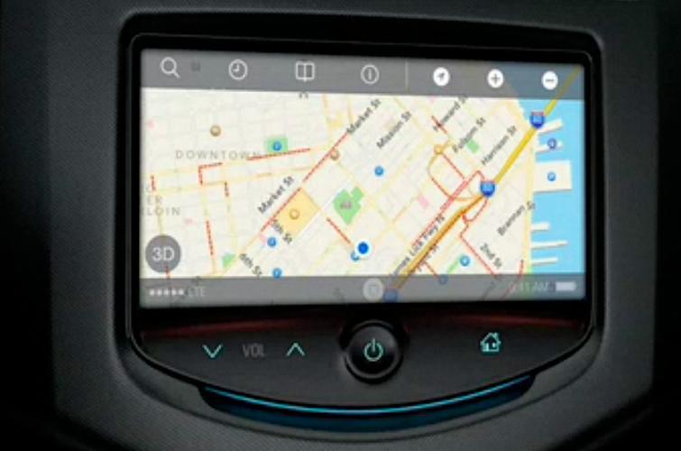 iOS in the Car UI