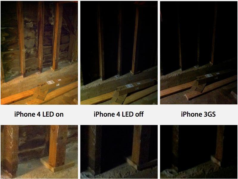 iPhone 4 LED