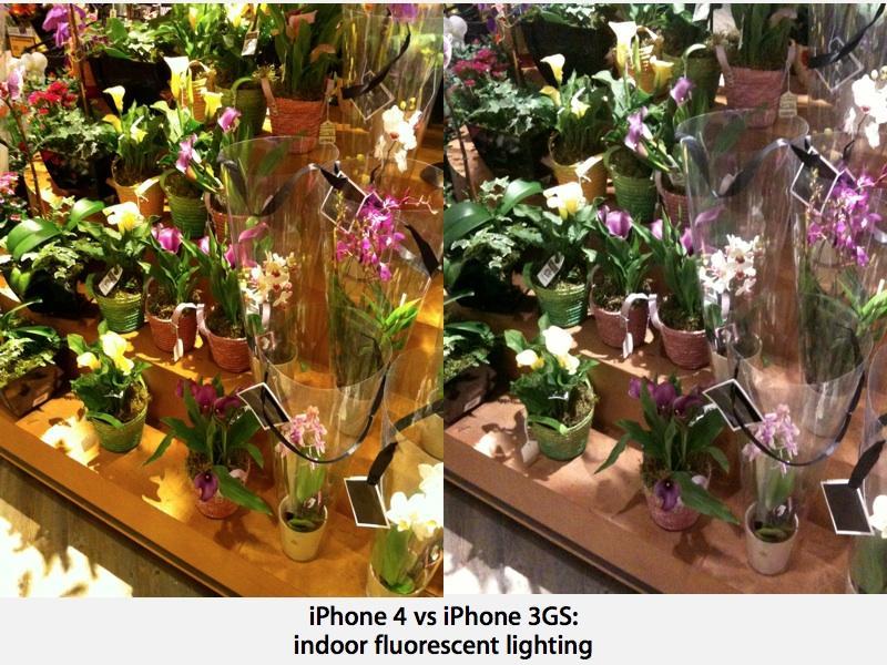 iPhone 4 indoors