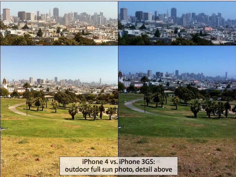 iPhone 4 park photo