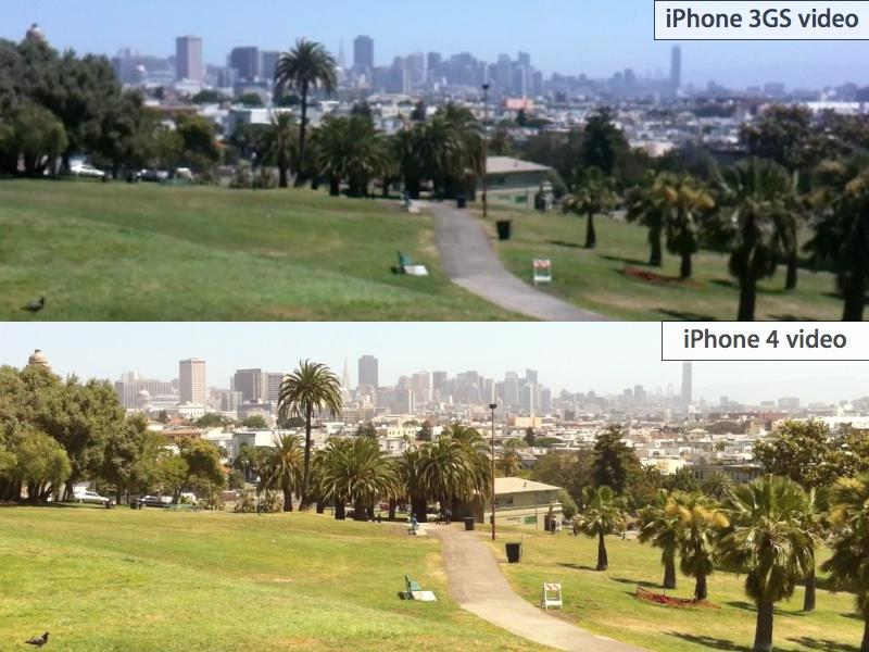 iPhone 4 park video