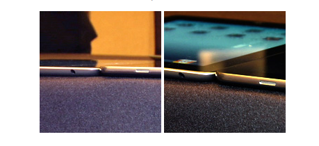 Samsung Galaxy Tab not thinner than iPad 2