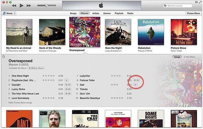 iTunes 11 iCloud