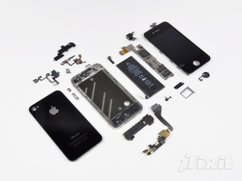 iFixit teardown iPhone 4