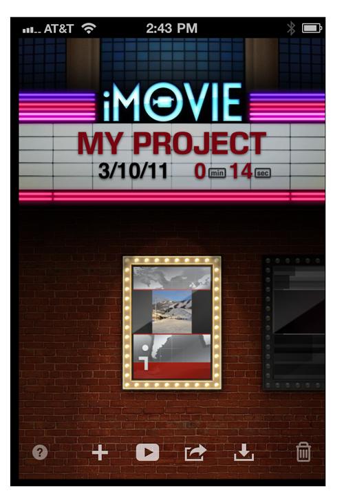 iMovie 1
