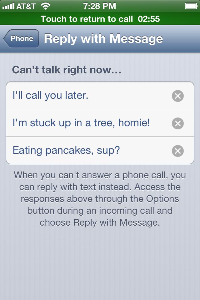 iOS 6 Phone app