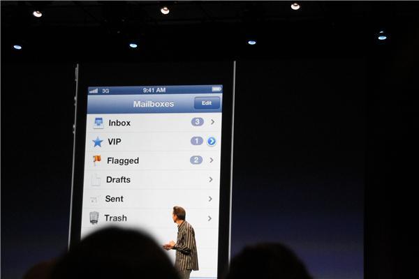 iOS 6 VIP Mail