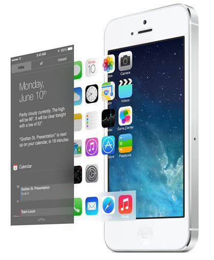 iOS 7 layers