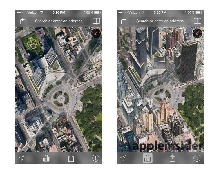 iOS Sat & Flyover