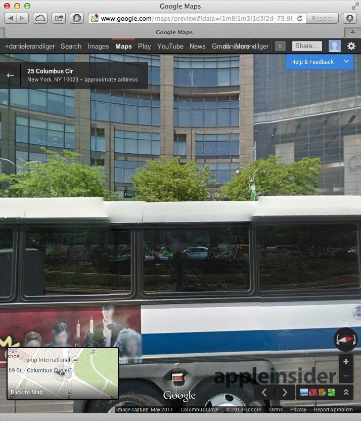 Google Street View #Selfie