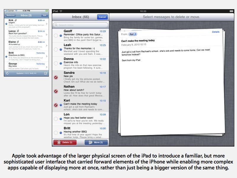 iOS and iPod UI