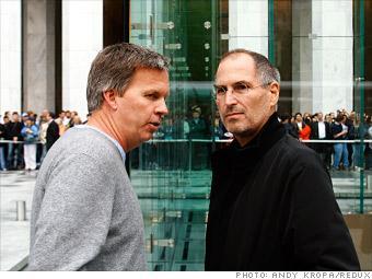 Ron Johnson and Steve Jobs