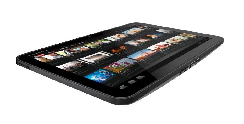 Motorola Xoom side view
