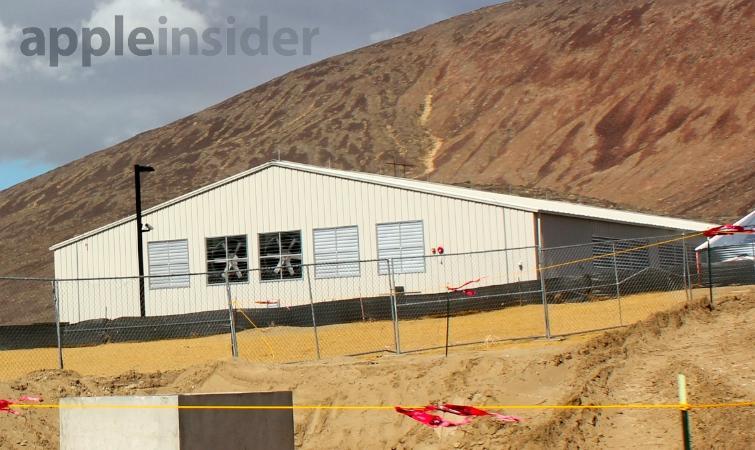 Apple Reno data center site in March